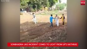 On cam: 2 groups clash over land dispute in Hathras