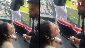 भारत-पाकिस्तान मैच के बीच जीवा धोनी और ऋषभ पंत का मजेदार विडियो हुआ वायरल