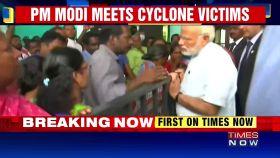 PM Modi meets victims of Cyclone Ockhi
