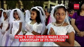 Pune Christians celebrate as its first church marks 225 years