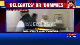 Rahul Gandhi files nomination for Congress president