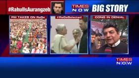 Rahul's nomination: PM takes a jibe at Congress on 'Aurangzeb-Raj'