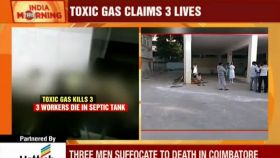 Three men die while cleaning septic tank in Chennai