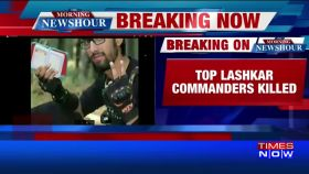Top LeT militants killed by security forces in J&K's Qazigund