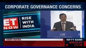 Uday Kotak speaks on sidelines of Corporate Governance concerns
