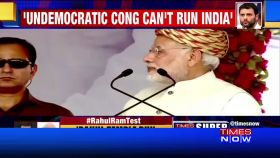 Undemocratic Congress can't run India: PM Modi