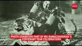 Watch: Old and rare photos of former TN CM MG Ramachandran displayed at centenary celebrations