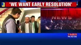 We want early resolution: Sunni Waqf Board on Ayodhya dispute