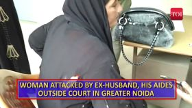 Woman attacked by ex-husband, his aides outside court in Greater Noida