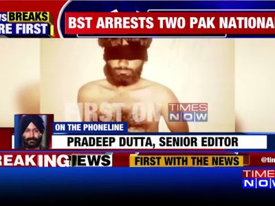 2 Pak nationals apprehended by BSF in J&K's Samba sector