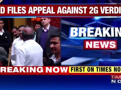 2G case: ED moves Delhi HC against acquittal of A Raja, Kanimozhi