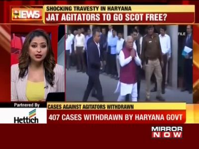 407 cases against Jat agitators withdrawn by Haryana govt
