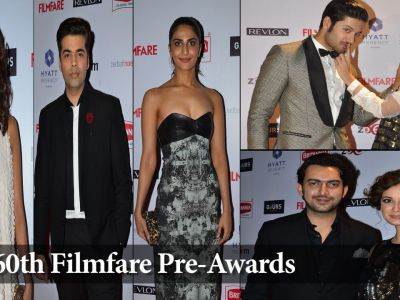 60th Filmfare Pre-Awards Party with Celebs