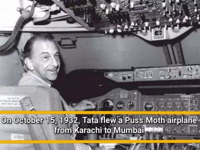 86 years since Tata Airline's first flight in 1932