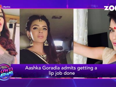 Aashka Goradia admits getting a lip job done, 'Bigg Boss 12' details out, and more…