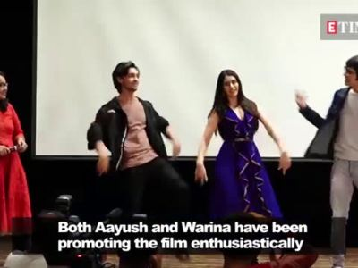 Aayush Sharma on link-up rumuors about Salman Khan and Katrina Kaif
