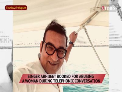 Abhijeet Bhattacharya booked for abusing and harassing woman
