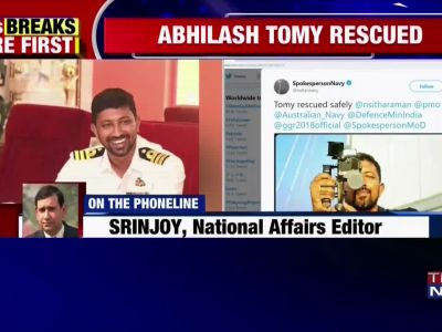 Abhilash Tomy: Injured Indian sailor rescued by French vessel