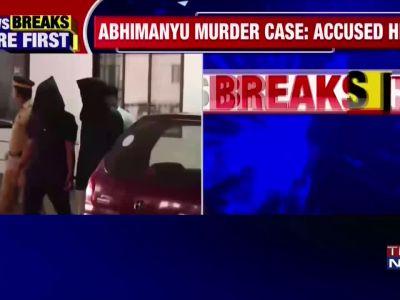 Abhimanyu murder case: Prime accused held