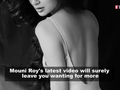 Actress Mouni Roy's latest sultry video will leave you entranced!