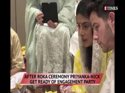 After Roka ceremony Priyanka-Nick get ready of engagement party, Kajol talks about Suhana Khan getting trolled and more