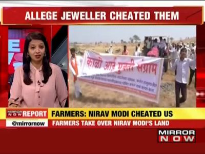 Ahmednagar farmers take over Nirav Modi's land