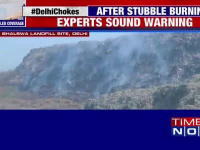 Air pollution: No respite for Delhiites as Bhalswa landfill fire rages