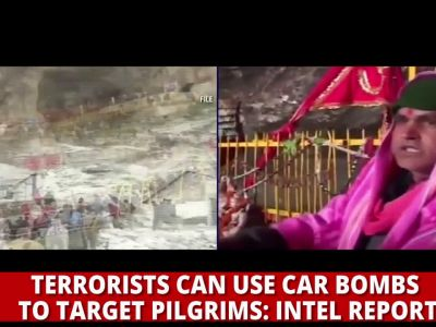 Amarnath Yatra on terrorists' target, security agencies on high alert