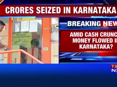 Amid cash crunch, currency notes worth crores seized in poll-bound Karnataka