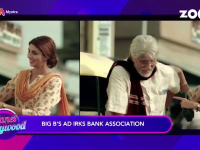Amitabh Bachchan's advertisement creates controversy