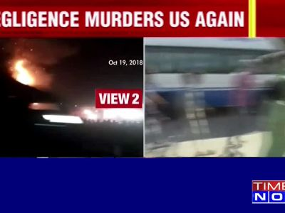 Amritsar train action: Angry locals protest at mishap site; demand accountability