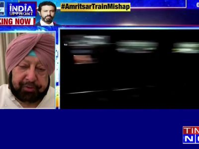 Amritsar train mishap: Punjab CM Amarinder Singh assures all possible help to victims