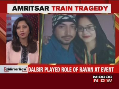 Amritsar train tragedy: Man who played Ravana dies trying to save lives