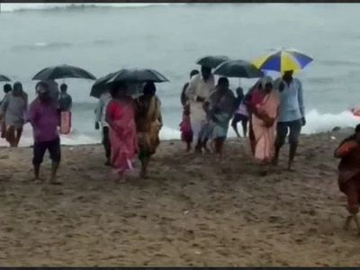 Andhra Pradesh: Rain lashes north coast, IMD issues alert