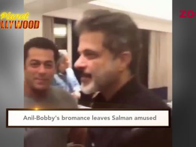 Anil-Bobby's bromance leaves Salman amused
