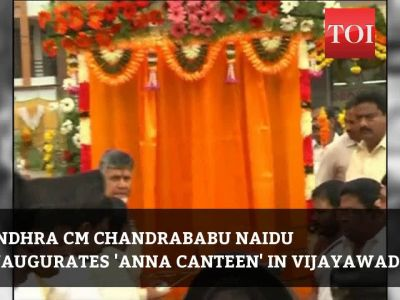 'Anna Canteens' to provide meals to around 2 lakh people in Andhra Pradesh at Rs 5 each