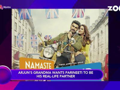 Arjun Kapoor's grandma wants to see him marry Parineeti Chopra