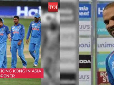 Asia Cup 2018: India goes against Hong Kong for group league opener
