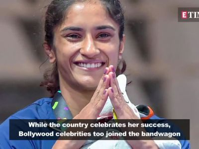 Asian Games 2018   Bollywood congratulates Vinesh Phogat for winning Gold