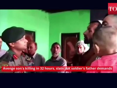 Avenge son's killing in 32 hours, slain Jammu and Kashmir soldier's father demands