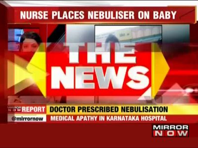 Baby suffers severe burns during nebulisation at Karnataka hospital