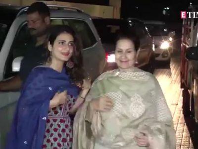 Badhaai Ho: Ayushmann Khurrana, Tahira Kashyap, Sanya Malhotra, Fatima Sana Sheikh and other Bollywood celebs attend the screening