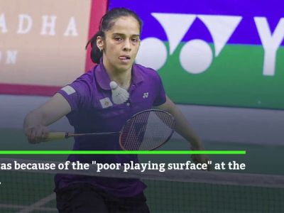 Badminton Nationals: Saina Nehwal refuses to play on uneven surface, match rescheduled