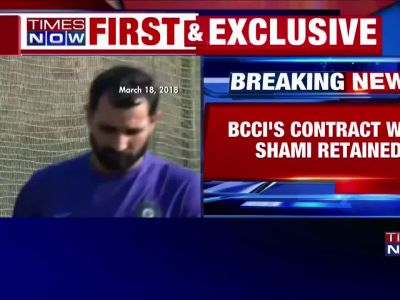 BCCI clear Shami of match-fixing charges, offers him Grade B contract
