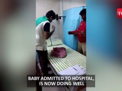Bengaluru: Baby abandoned hours after birth, saved by good samaritans and cops