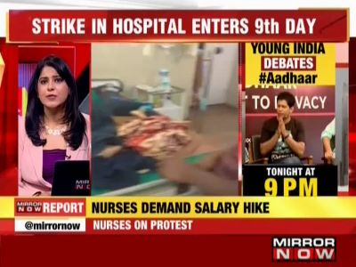 Bengaluru: Kidwai nurses' strike enters 9th day, cancer patients left on lurch