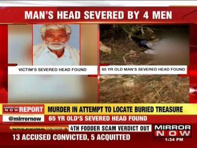 Bengaluru shocker! Four men behead 65-year-old to locate buried treasure