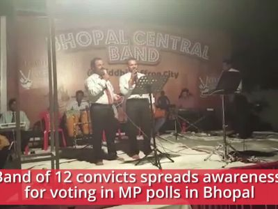 Bhopal: Band of convicts spreads awareness for voting ahead of MP polls