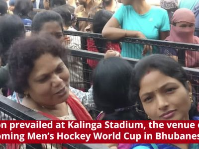 Bhubaneswar: Fans resort to vandalism after failing to get tickets for Men's Hockey World Cup