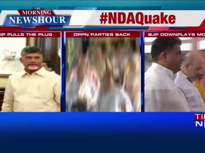 Big day for NDA in Parliament as YSR Cong, TDP to push for no-trust motion